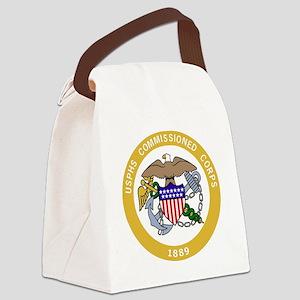 USPHS-Black-Shirt-6 Canvas Lunch Bag