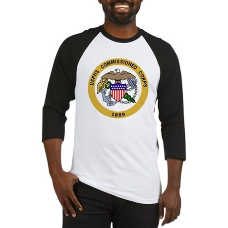 USPHS-Commissioned-Corps-Gold-2.gi Baseball Jersey
