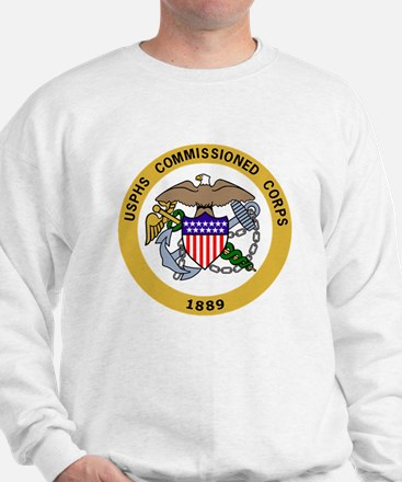USPHS-Commissioned-Corps-Gold-2.gif Sweatshirt