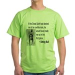 Sitting Bull Green T-Shirt