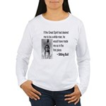 Sitting Bull Women's Long Sleeve T-Shirt