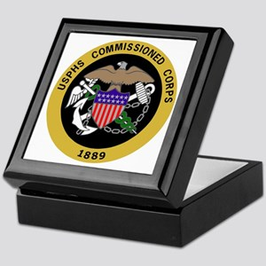 USPHS-Commissioned-Corps-Yellow.gif Keepsake Box