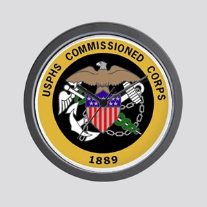 USPHS-Commissioned-Corps-Yellow Wall Clock