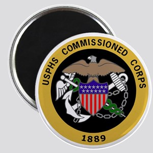 USPHS-Commissioned-Corps-Yellow Magnet
