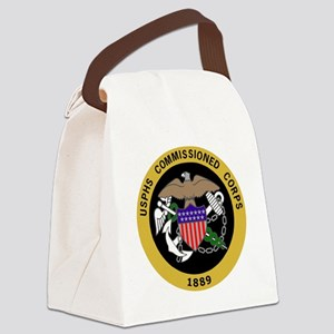 USPHS-Commissioned-Corps-Yellow.g Canvas Lunch Bag
