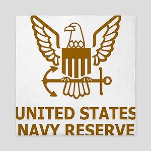 USNR-Shirt-Brown Queen Duvet