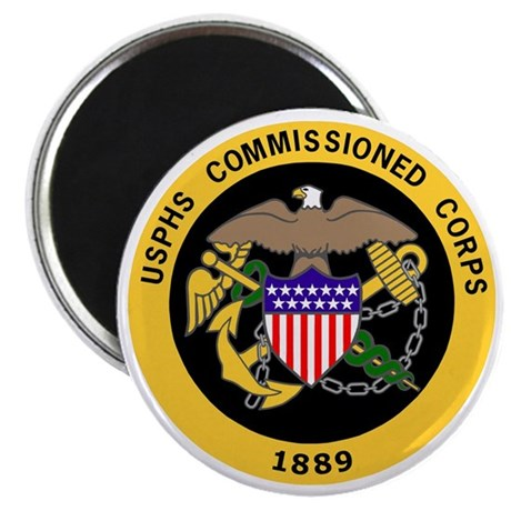 USPHS-Commissioned-Corps-Gold-3 Magnet