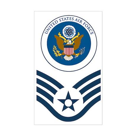 USAF-SSgt-Value-Shirt-3 Sticker (Rectangle)