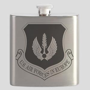 USAF-USAFE-Shield-BW-Bonnie Flask