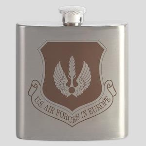 USAF-USAFE-Khaki-Cap Flask