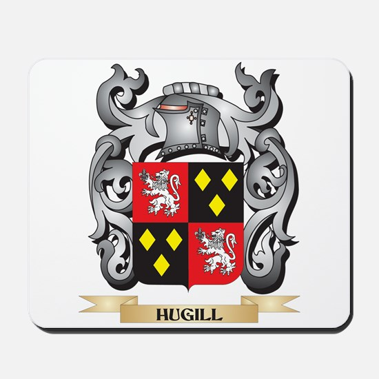 Hugill Coat of Arms - Family Crest Mousepad