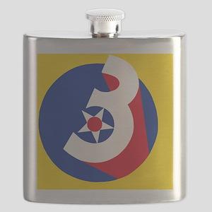 USAF-3rd-AF-Button Flask