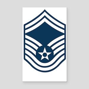 USAF-SMSgt-X Rectangle Car Magnet