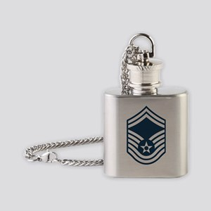USAF-SMSgt-X Flask Necklace