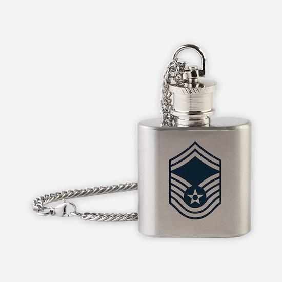 USAF-SMSgt-X.gif Flask Necklace