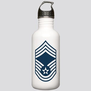 USAF-CMSgt-Squared Stainless Water Bottle 1.0L