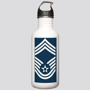 USAF-CMSgt-Mousepad.gi Stainless Water Bottle 1.0L