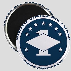 USAF-First-Sergeant-Logo-Bonnie Magnet