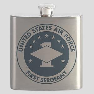 USAF-First-Sergeant-Logo-Bonnie Flask