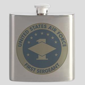 USAF-First-Sergeant-Black-Shirt Flask
