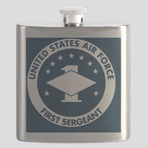 USAF-First-Sergeant-Greetings Flask