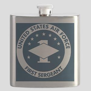 USAF-First-Sergeant-Magnet Flask