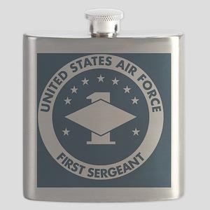 USAF-First-Sergeant-Button Flask