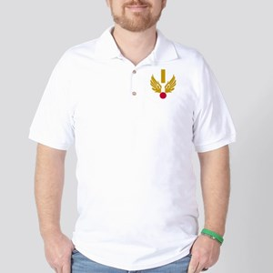 USAF-2Lt-Black-Shirt Golf Shirt