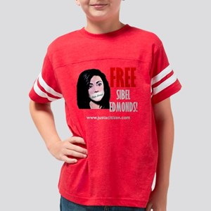 free_sibel_t_trans Youth Football Shirt