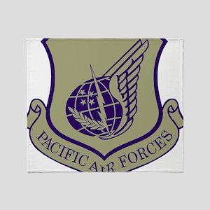 USAF-PAF-Black-Shirt-2 Throw Blanket