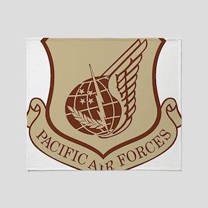 USAF-PAF-Black-Shirt Throw Blanket