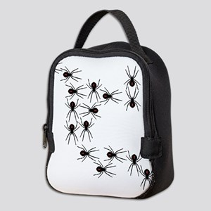 Creepy Crawly Spiders Neoprene Lunch Bag