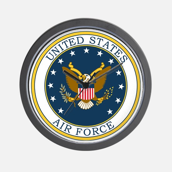 USAF-Patch-3X-DUPLICATE.gif Wall Clock