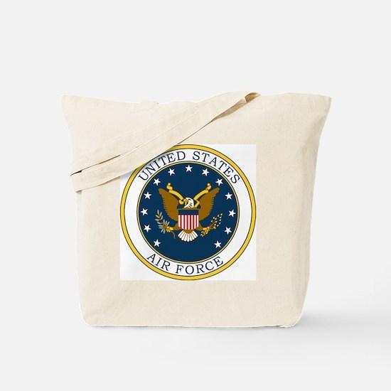 USAF-Patch-3X-DUPLICATE.gif Tote Bag