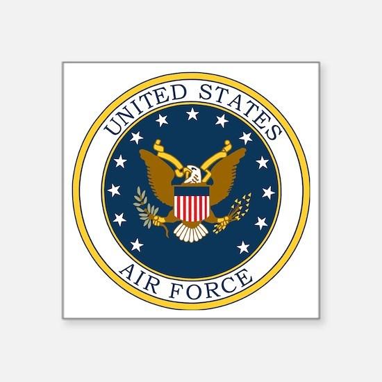 """USAF-Patch-3X-DUPLICATE.gif Square Sticker 3"""" x 3"""""""