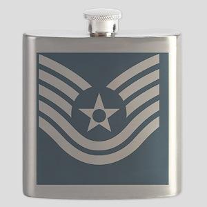 USAF-TSgt-Greeting Flask