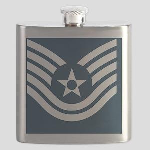 USAF-TSgt-Tile Flask