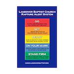 Rapture Alert - Mini Poster Print