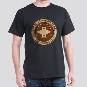 Delete-From-Here-USAF-First-Sergeant- Dark T-Shirt