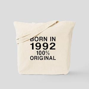 Born In 1992 Tote Bag