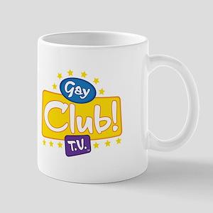 Gay Club TV's Screen Logo Mug