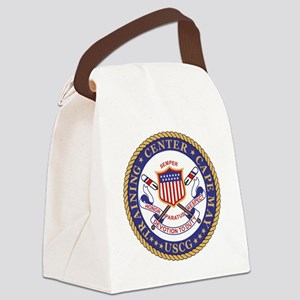 USCG-TraCen-Cape-May-Bonnie Canvas Lunch Bag