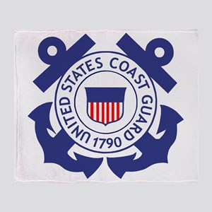 USCG-Logo-For-TRACEN-CpMy Throw Blanket