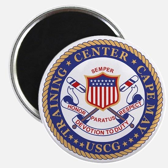 USCG-TRACEN-CpMy-Black-Shirt Magnet