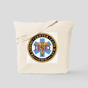 USCG-TraCen-Cp-My-Health-Services-Black.g Tote Bag