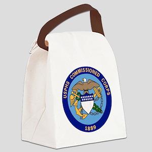 USCG-TRACEN-CpMy-USPHS-Officer.gi Canvas Lunch Bag