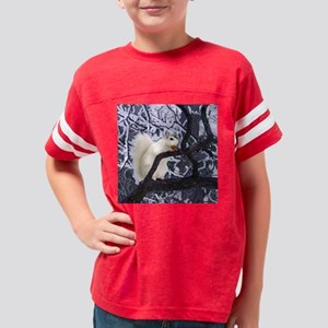 white squirrel jenWC5x5 Youth Football Shirt