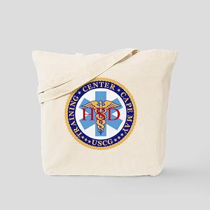 USCG-TRACEN-CpMy-CC-Black-Shirt-3 Tote Bag