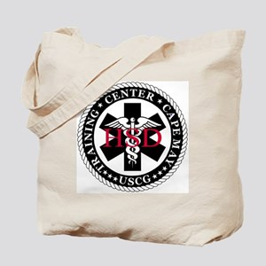 USCG-TRACEN-CpMy-Health-Services-Messenge Tote Bag