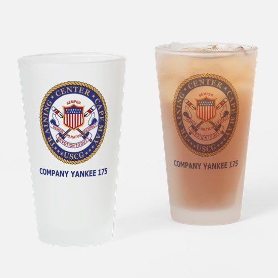 USCG-Recruit-Co-Y175-Shirt-2.gif Drinking Glass